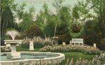 Bar Harbor, Maine, the Italian Garden at Kenarden Lodge