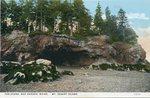 Bar Harbor, Maine, the Ovens, Mt. Desert Island