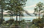 Bar Harbor, Maine, Eagle Lake from the Old Road