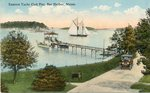 Bar Harbor, Maine, Eastern Yacht Club Pier