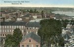 Biddeford, Maine, Mill District from City Hall Tower