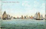 Fishing Fleet, Near Eastport, Maine