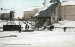 Ice Harvesting on the Kennebec, Maine
