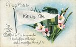 Kittery, Maine Postcard