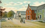 Naples, Maine, Post Office and Main Street