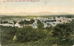Norway, Maine, Birds Eye View from Pike Hill
