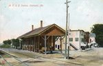Oakland, Maine, M.C.R.R. Station