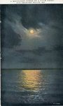 Old Orchard Beach, Maine, Moonlight Scene on a Calm Night