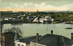 Pittsfield, Maine, River Scene