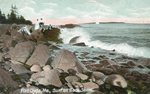 Port Clyde, Maine, Surf on Back Shore
