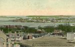Portland, Maine, Bird's Eye View of South Portland and Cushings Island