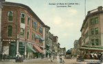 Lewiston, Maine, Corner of Main and Lisbon Streets