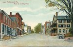 Richmond, Maine, Main Street Looking West