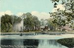 Portland, Maine, Deering Oaks Fountain