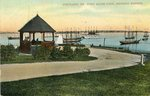 Portland, Maine, Fort Allen Park, Showing Harbor