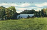Acadia National Park, Jordan Pond and the Bubbles, Bar Harbor, Maine