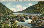Acadia National Park, Bubble Pond, Bar Harbor, Mt. Desert Island, Maine