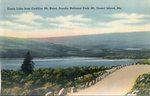 Acadia National Park, Eagle Lake from Cadillac Mountain, Mt. Desert Island, Maine