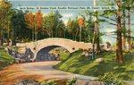Acadia National Park, Arch Bridge, At Bubble Pond, Mt. Desert Island, Maine