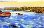 Bangor, Maine, Salmon Pool and Falls