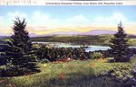 Rangeley Lakes, Maine, Overlooking Rangeley Village, from Manor Hill