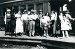 Bangor and Aroostook Train at Katahdin Iron Works