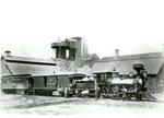 Bangor and Piscataquis Railroad at Katahdin Iron Works
