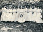 Ada Peirce McCormick and Members of Lambda Psi
