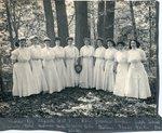 Ada Peirce McCormick and Members of Lambda Psi at Ogontz School