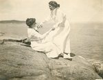 Margery Prentiss and Ada Peirce at Seal Harbor