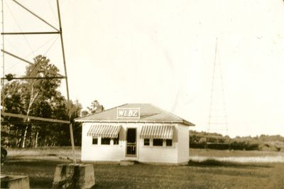 WLBZ Transmitter Building, circa 1937