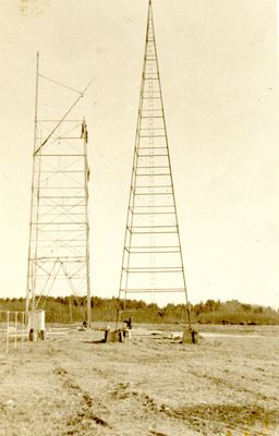 WLBZ Tower Under Construction