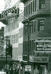 Bangor, Maine, Main Street and WLBZ Radio Studio