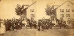 Orono, Maine, Katahdin Building and Parade Gathering