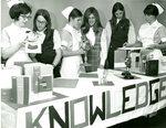 Nurses at Recruitment Table
