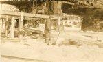 Biddeford-Saco, Maine, Man Working at Bridge Construction Site