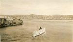 Bucksport, Maine, Ship in Penobscot Harbor