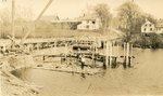 Dresden, Maine, Bridge Construction Site