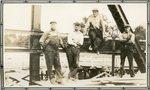 Dresden, Maine, Men at Bridge Construction Site