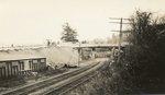 Hallowell, Maine, Bridge and Railroad Tracks