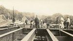 Hallowell, Maine, Men Working on Bridge