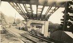 Hallowell, Maine, Bridge Construction Over Railroad Tracks