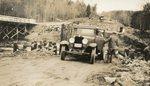 Newcastle, Maine, Auto at Marsh Bridge Construction Site