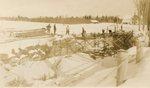 Palmyra, Maine, Removing Old Iron Bridge