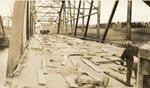 Palmyra, Maine, Iron Bridge Under Construction