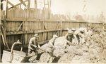 Passadumkeag, Maine, Men Working on Bridge
