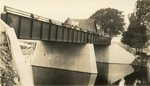 Passadumkeag, Maine, Men on a Bridge