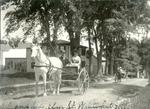 Winterport, Maine, Horse-Drawn Cart