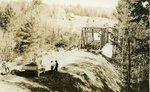 Willimantic, Maine, Arnold Bridge Construction