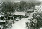 East Millinocket, Maine, Buildings Near Train Tracks